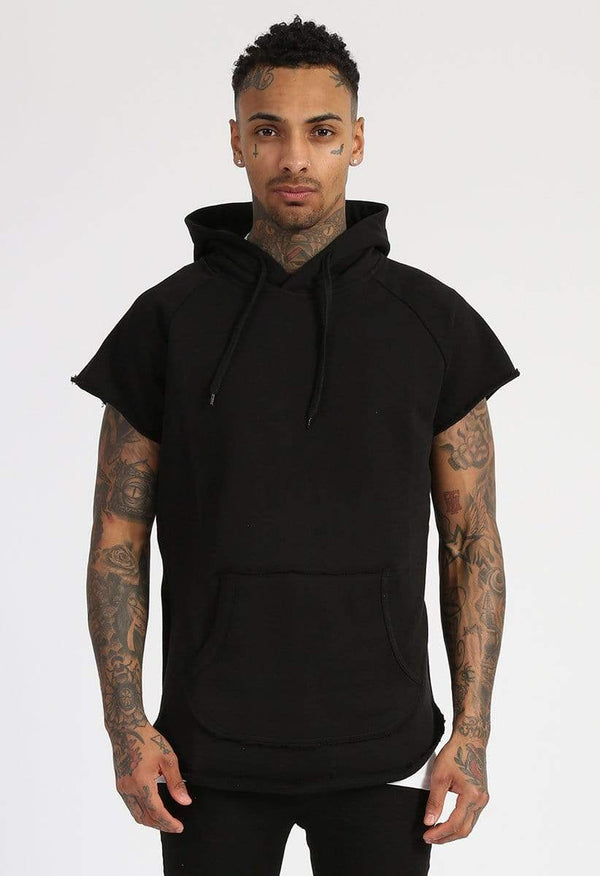 Criminal Damage HOODIE Baller Cut Hood - Black