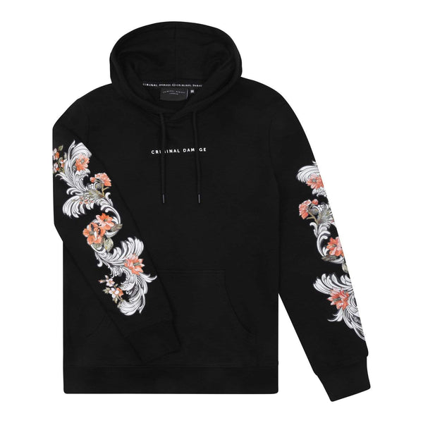 Criminal Damage HOODIE Black / XS Mickey Hood - Black