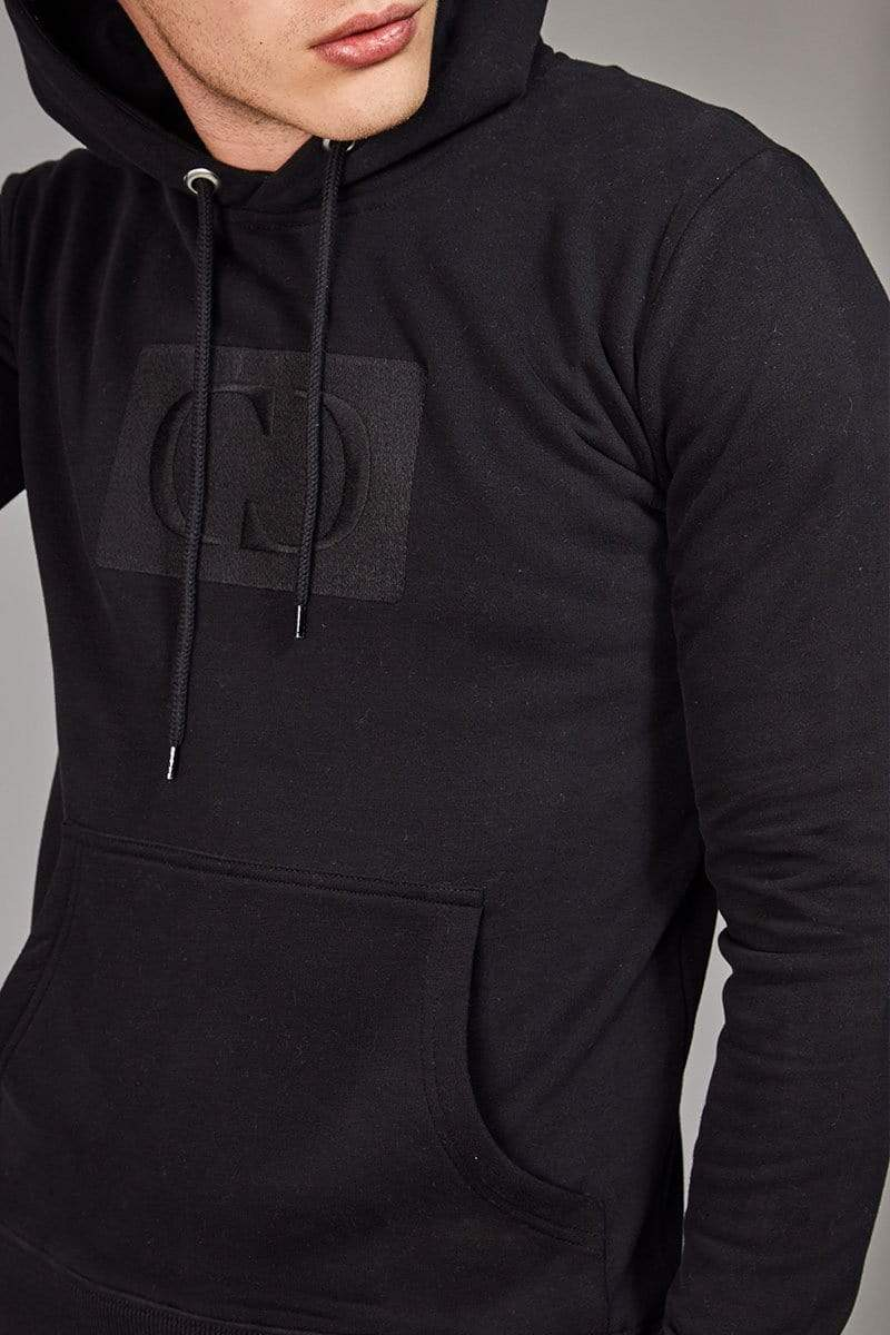 Criminal Damage HOODIE Black / XS Muscle Core Pullover Hood