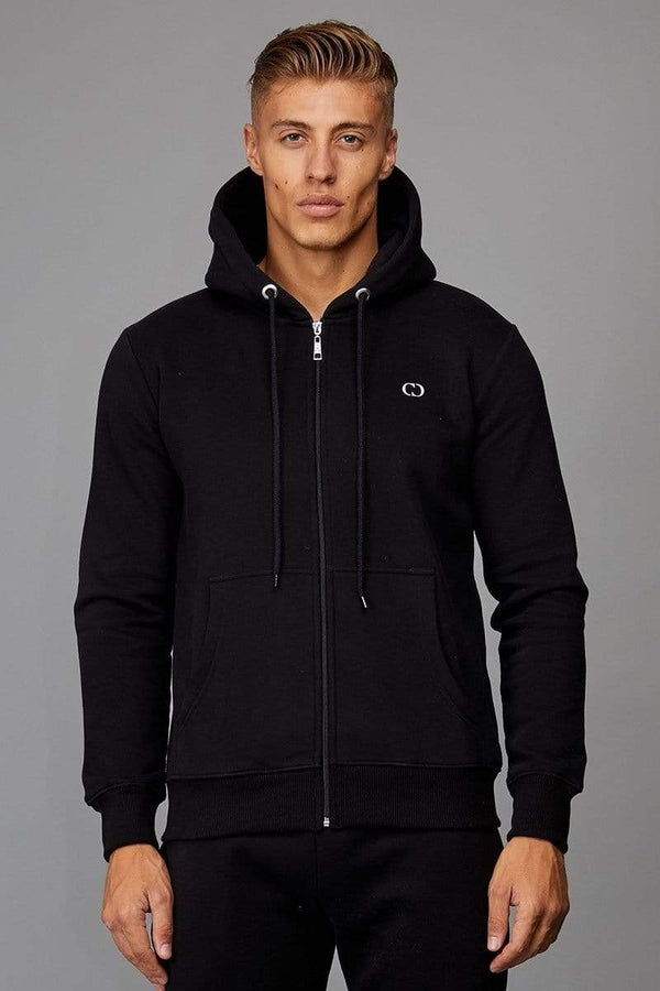Criminal Damage HOODIE Black / XS Muscle Core Zip Hood