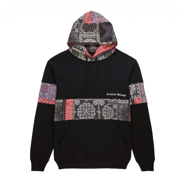 Criminal Damage HOODIE Cartel Hood - Black
