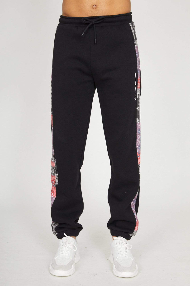 Criminal Damage HOODIE Cartel Jogger - Black