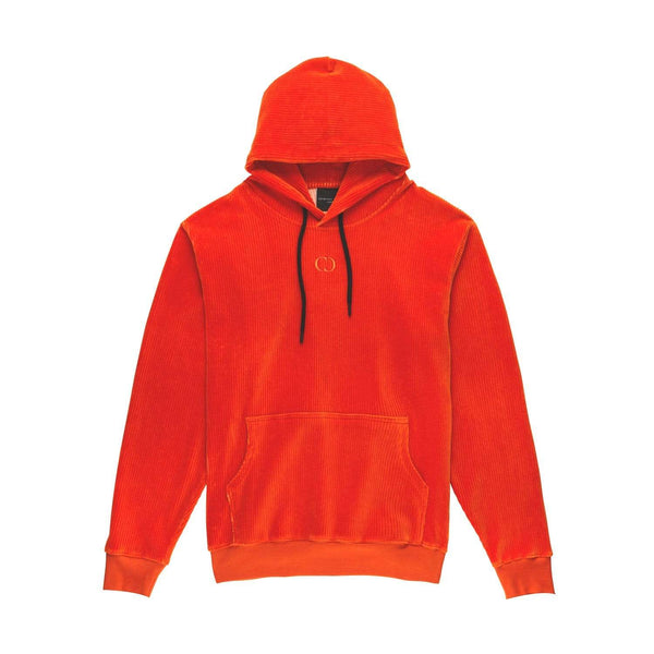 Criminal Damage HOODIE Cord Hood - Orange