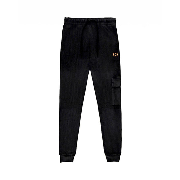 Criminal Damage HOODIE Cord Jogger - Black