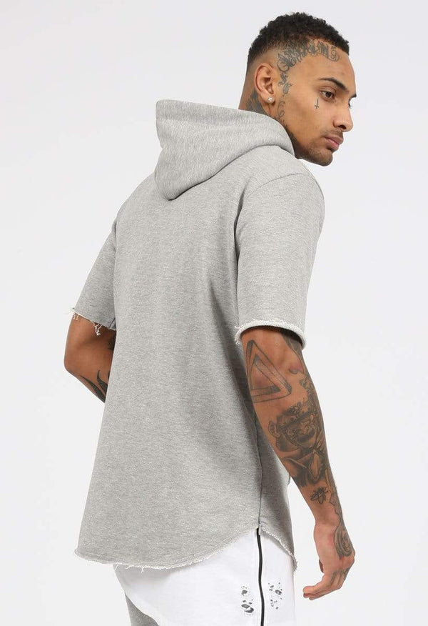 Criminal Damage HOODIE Criminal Damage Hood - Baller Grey