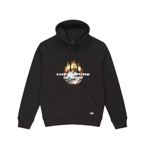 Criminal Damage HOODIE Future is now hood - Black