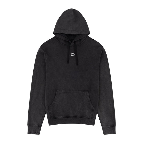 Criminal Damage HOODIE Galaxy Hood - Washed Black