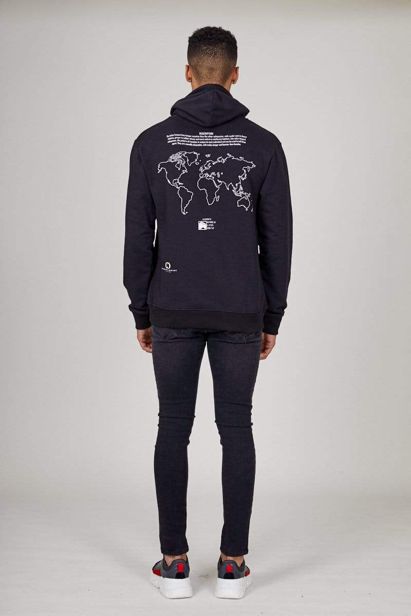Criminal Damage HOODIE Indian Leopard Hood