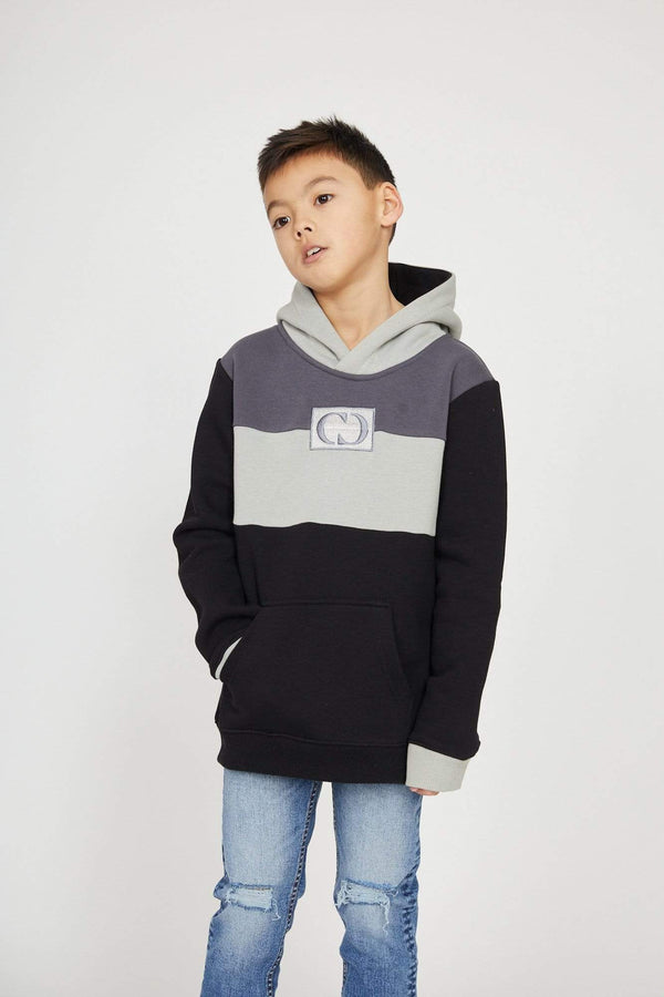 Criminal Damage HOODIE Kids Delli Hood - Black