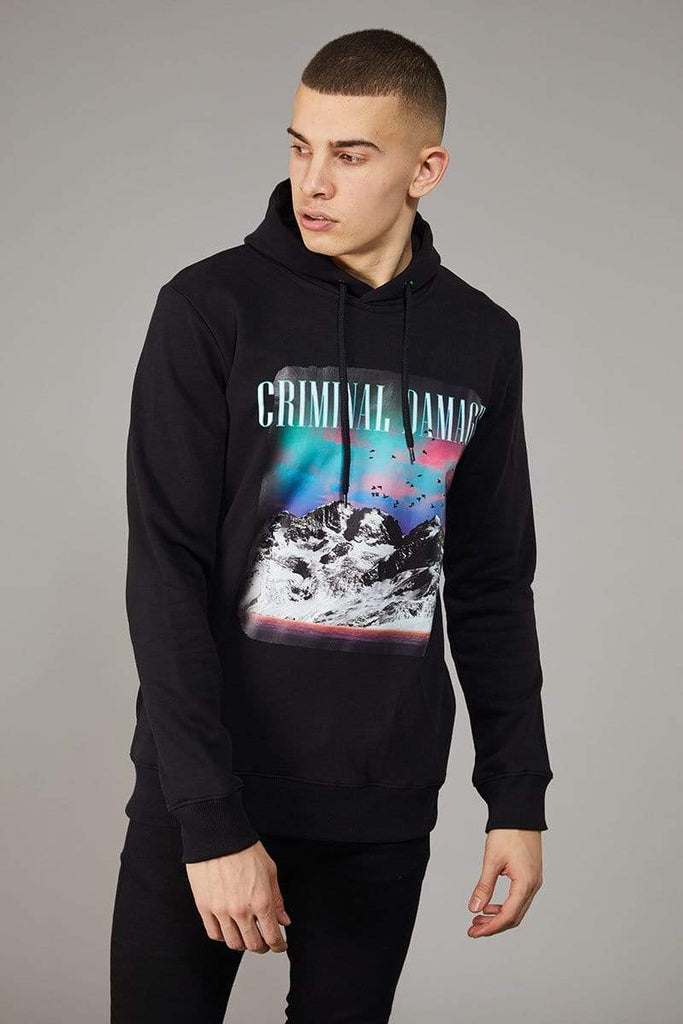 Criminal Damage HOODIE Mountain Hood