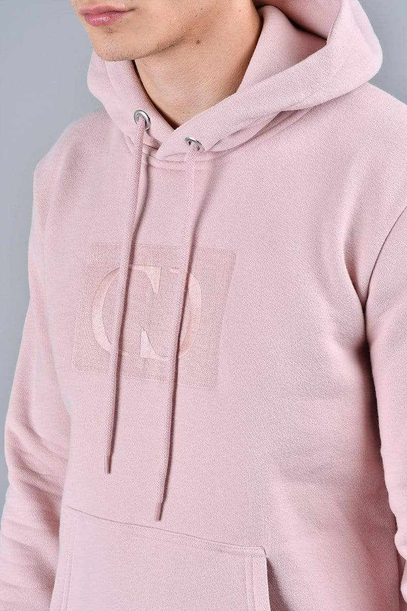 Criminal Damage HOODIE Pink / XS Muscle Core Pullover Hood