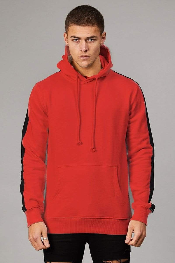 Criminal Damage HOODIE Red / XS Carnaby Hood