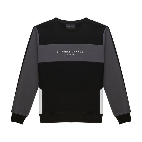 Criminal Damage HOODIE Sancho Sweat - Black