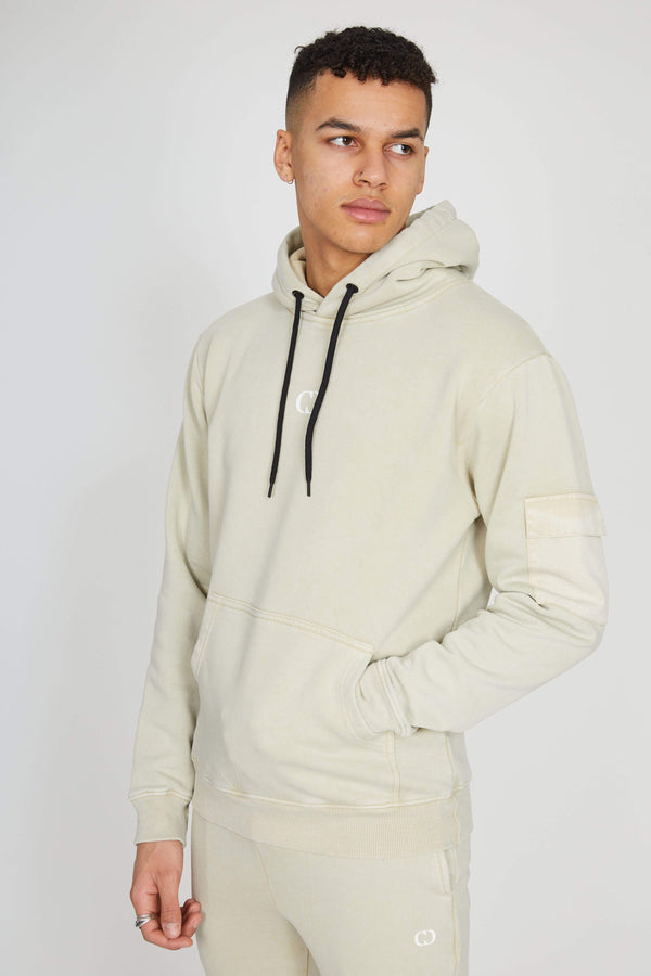 Utility Hood - Washed Beige