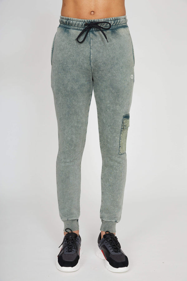 Utility Jogger - Washed Teal