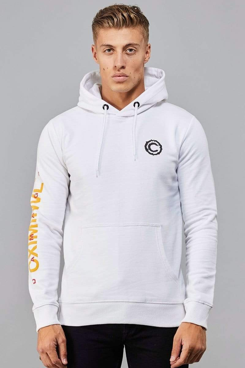 Criminal Damage HOODIE White / XS Token Hood