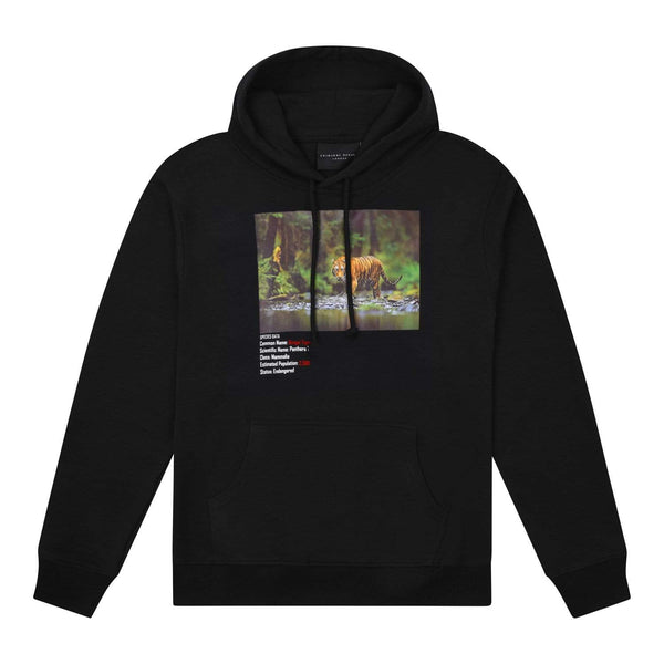 Criminal Damage HOODIE XS / Black Bengal Tiger Hood