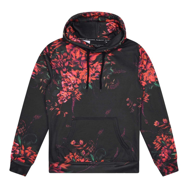 Criminal Damage HOODIE XS / Red Kai Hood - Red