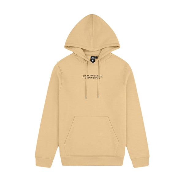 Criminal Damage HOODIES LA HOODIE - SAND