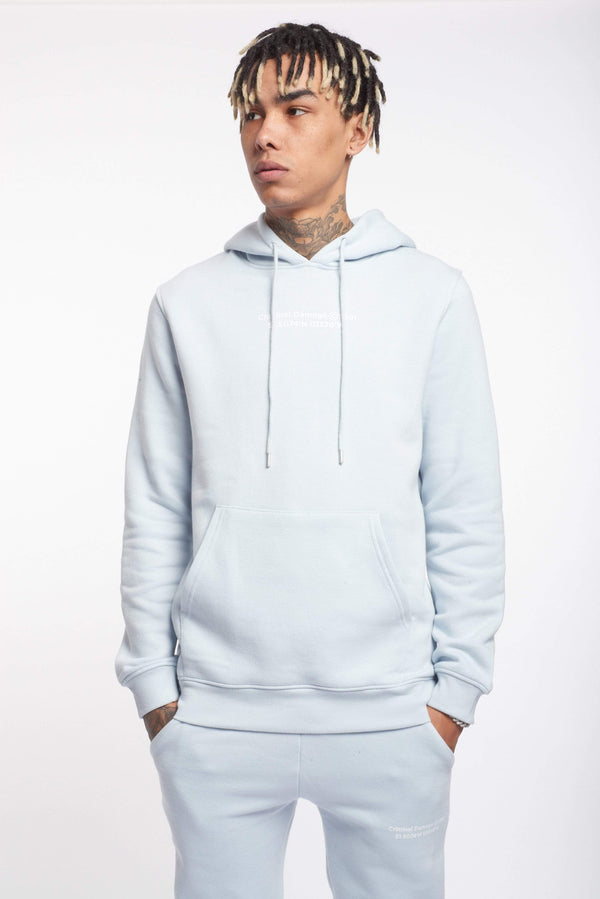 Criminal Damage HOODIES LA HOODIE - SKY BLUE