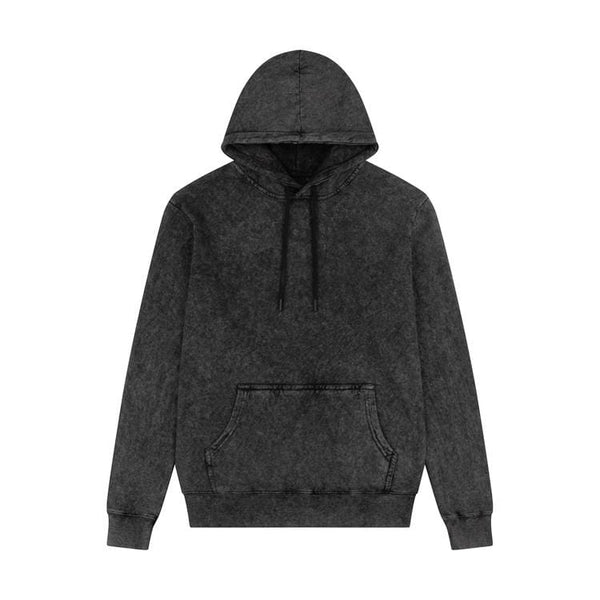 Criminal Damage HOODIES UNDERDOGS HOOD- BLACK WASH