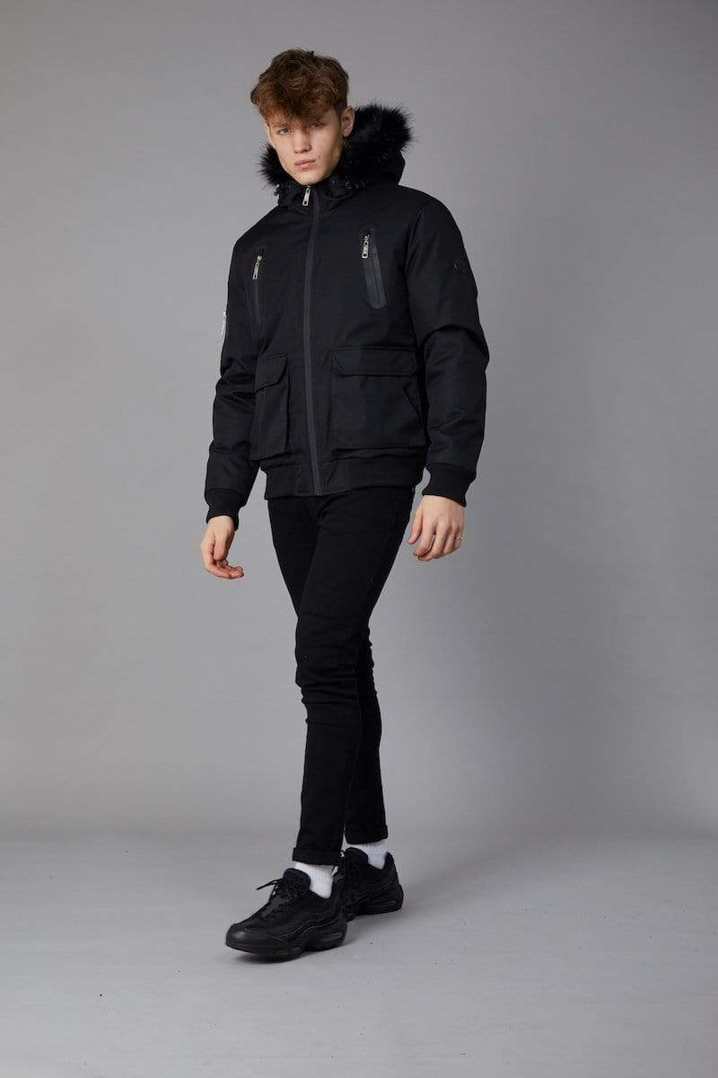Criminal Damage JACKET Bronn Jacket- Black