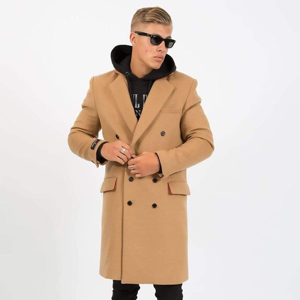 Criminal Damage Coat - Trotter Camel