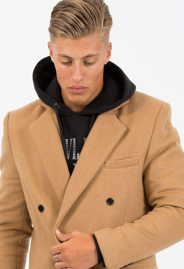 Criminal Damage JACKET Criminal Damage Oversized Jacket - Trotter Camel