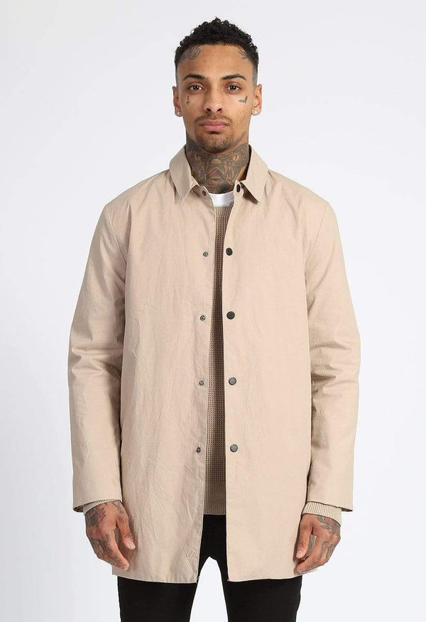 Criminal Damage JACKET Dapper Mac Cost - Stone