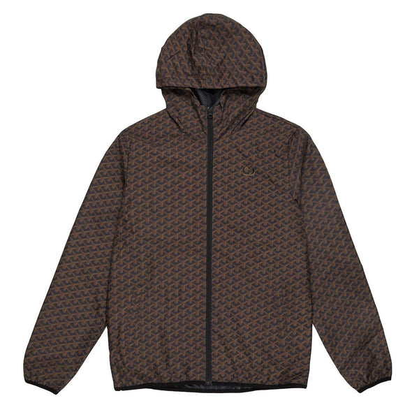 Louvre Windbreaker - Black/Brown