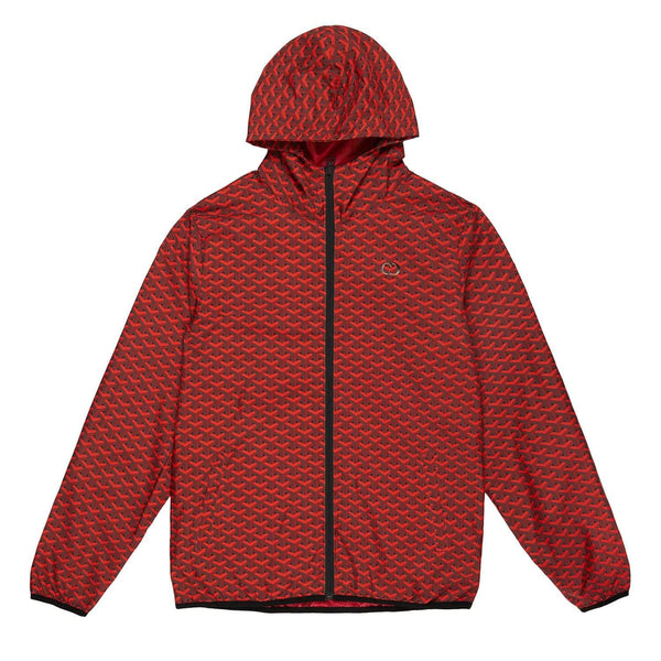 Louvre Windbreaker - Red