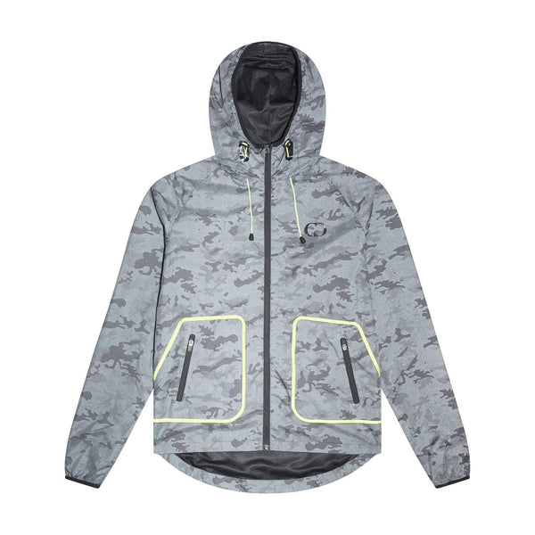 Criminal Damage JACKET Reflective Camo Windbreaker