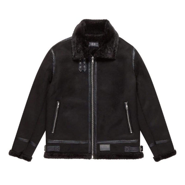 Criminal Damage JACKET Voyage Aviator Jacket - Black