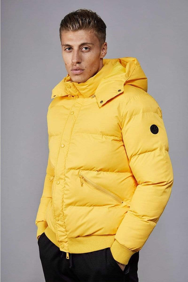 Criminal Damage JACKET Yellow / XS Covent Puffer Jacket
