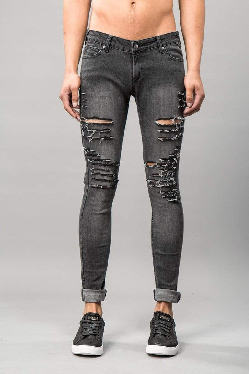 Criminal Damage JEANS Camden Jeans - Snow Wash