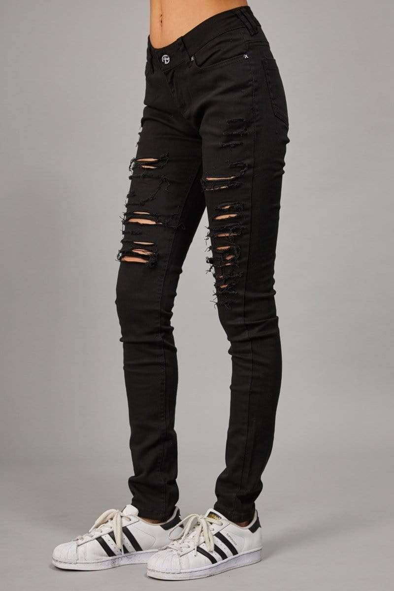 Criminal Damage JEANS Camden Jeans - w - Black