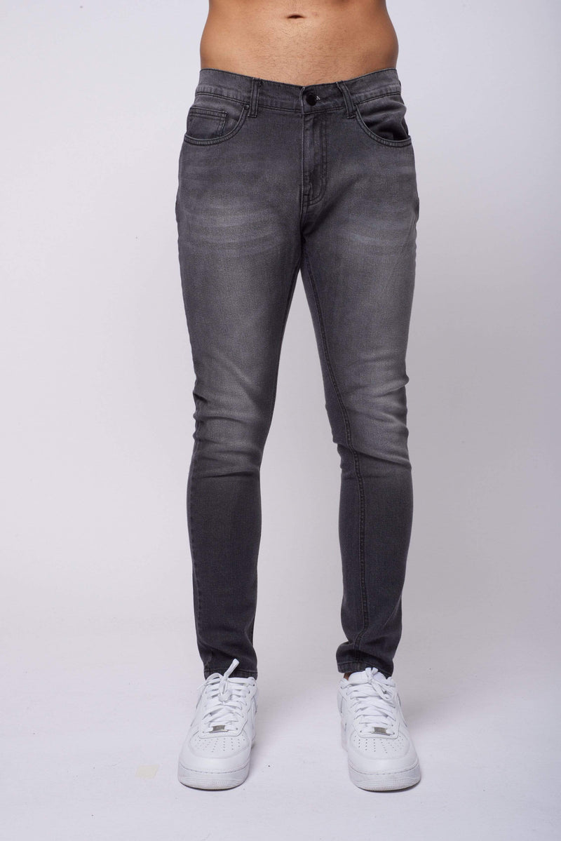 Criminal Damage JEANS Core Skinny Jean - Grey Wash