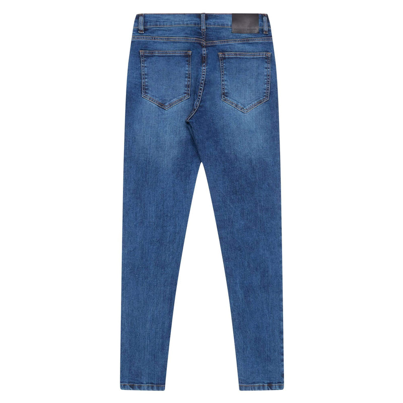 Criminal Damage JEANS Core Skinny Jeans - Mid Wash