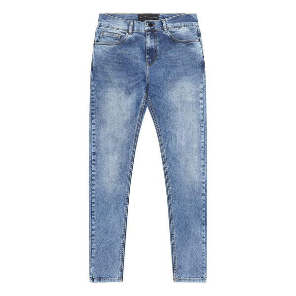 Criminal Damage JEANS Essential Skinny Jean - Mid Stone