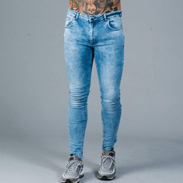 Notting Spray Jeans - Light Blue