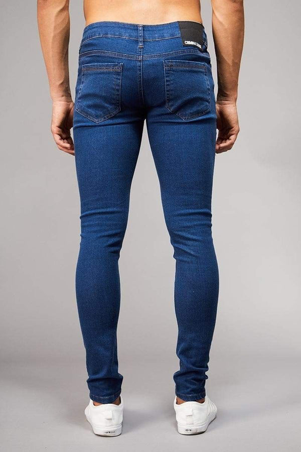 Criminal Damage JEANS Skinny Jeans - Dark Wash