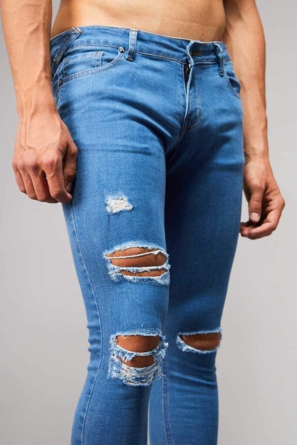 Criminal Damage JEANS Skinny  Ripper Jeans - Dark Wash