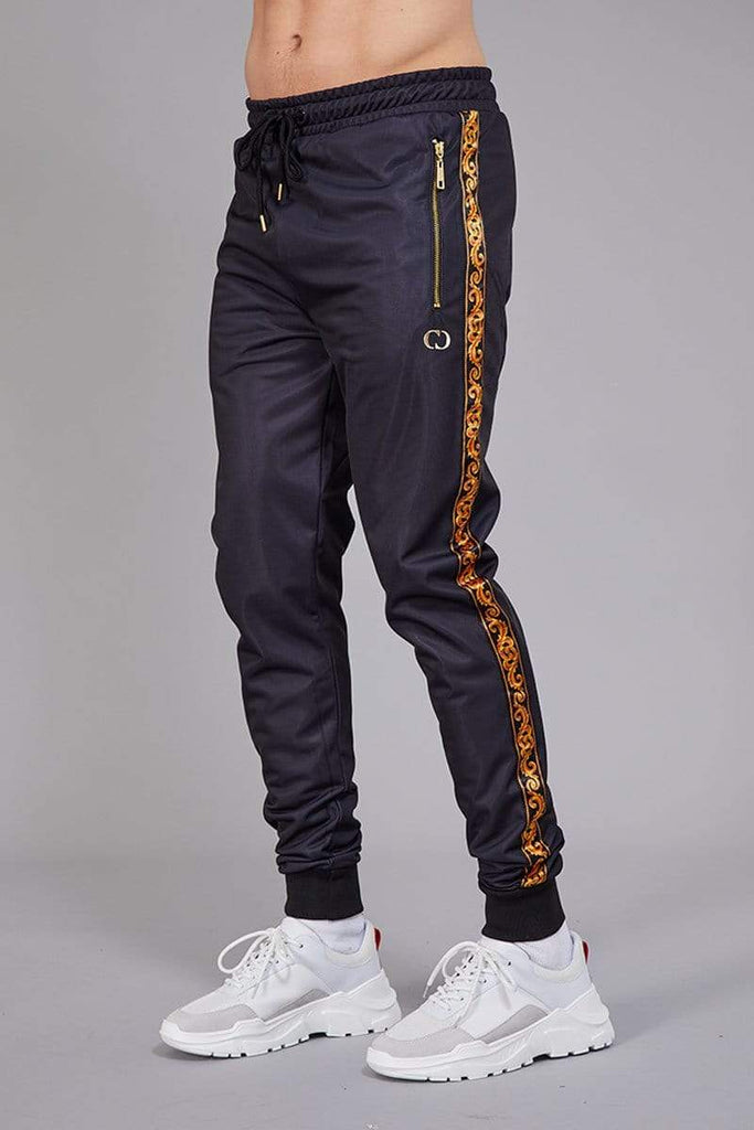 Criminal Damage JOGGERS Apollo Track Joggers - Black