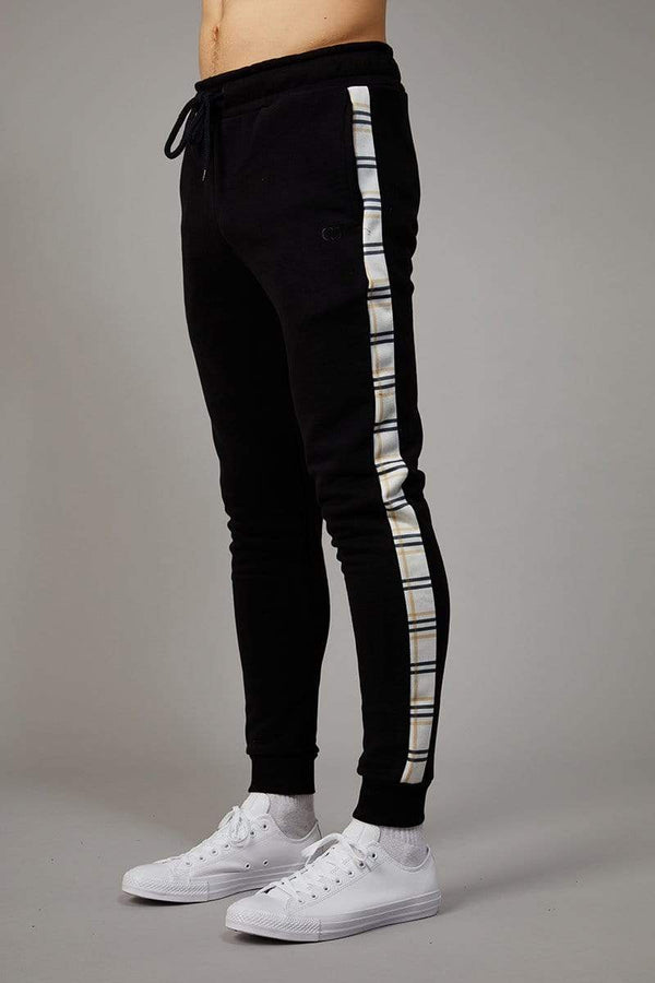 Criminal Damage JOGGERS Black / XS Check Jogger