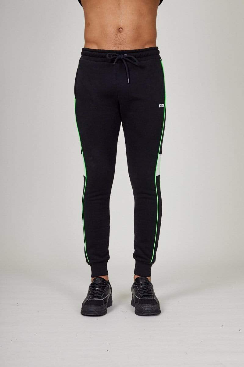 Criminal Damage JOGGERS Black / XS Panel Jogger