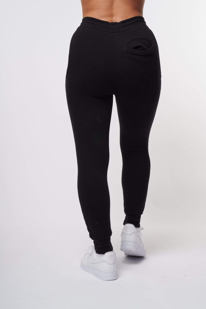 Criminal Damage JOGGERS Eco Essential Recycled Jogger - Black
