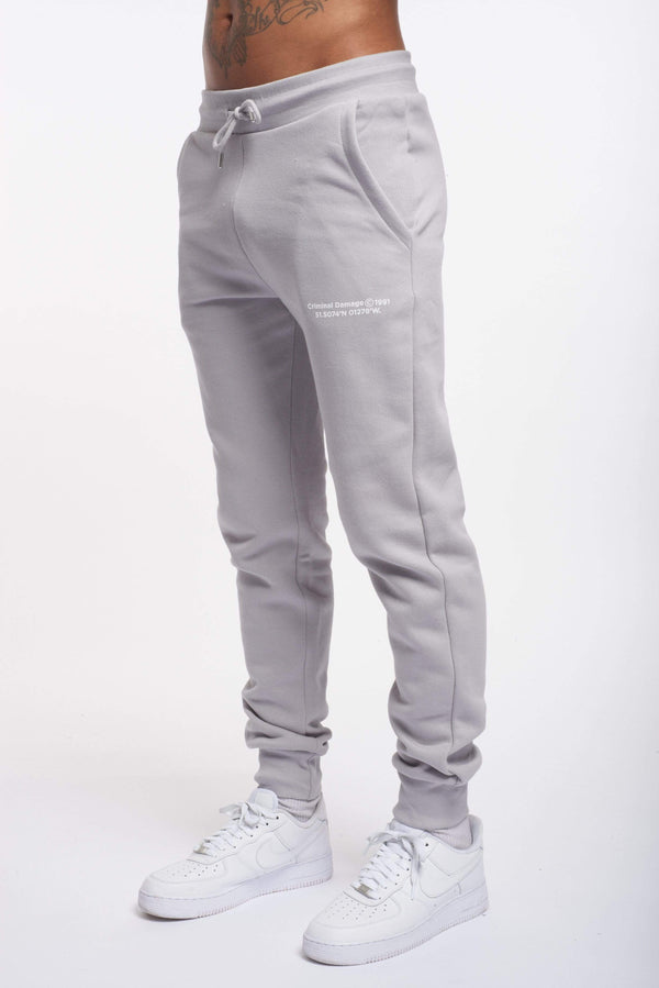 Criminal Damage JOGGERS LA JOGGERS - LIGHT GREY