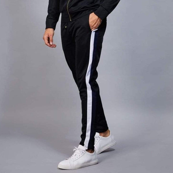 Cuccio Track Pants - Black/ Navy