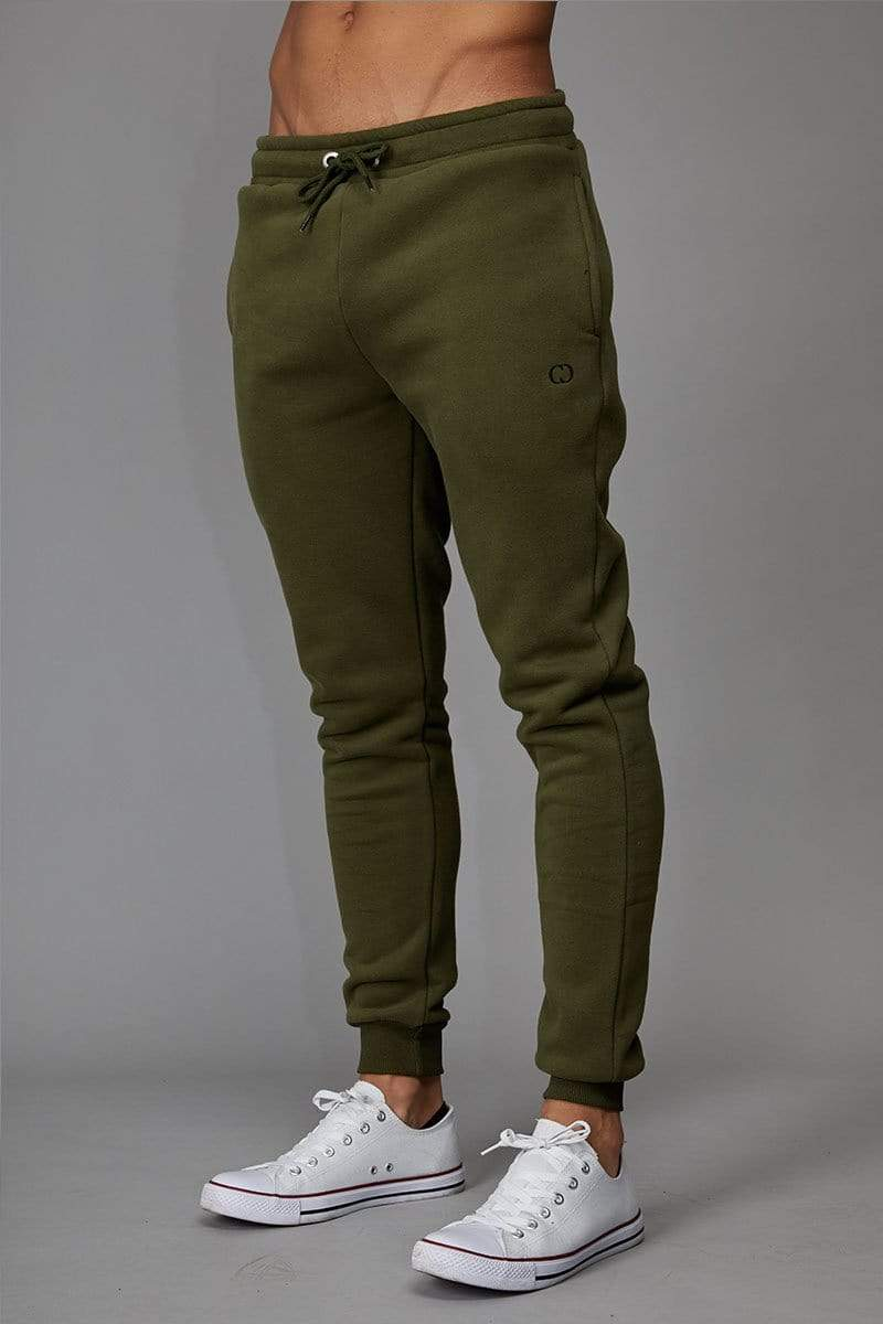 Criminal Damage JOGGERS Olive / XS Muscle Core Jogger