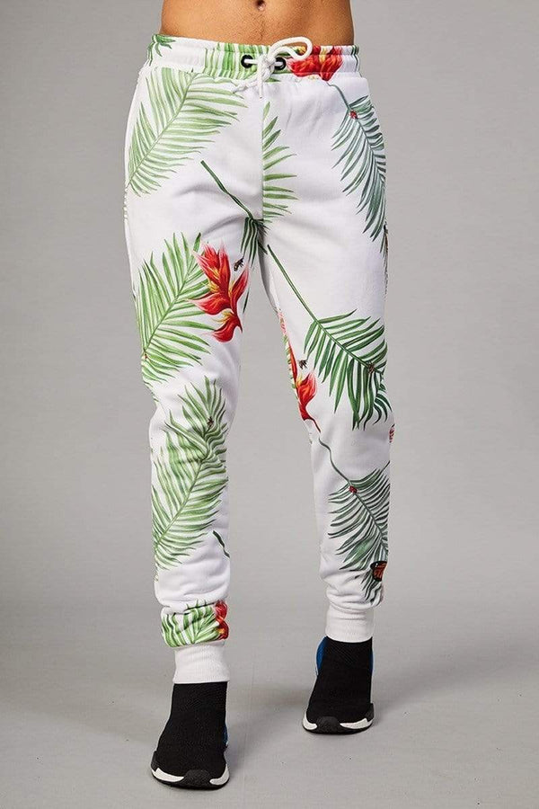 Criminal Damage JOGGERS Palm Jogger - White/Multi